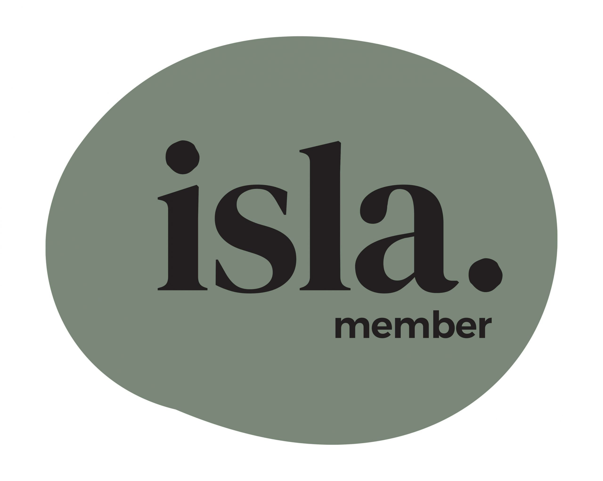 We've partnered with ISLA to help focus on sustainability