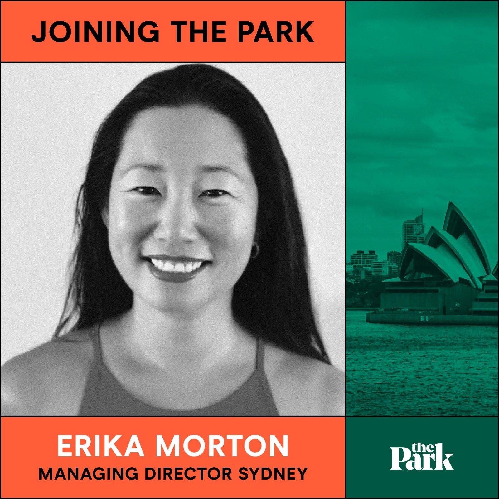 Welcome Erika